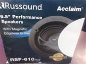 RUSSOUND RSF-610 SPEAKERS QTY-2